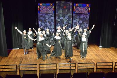 Maskers Fall Play 'Sister Act'