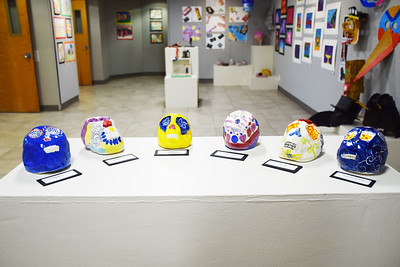 Middle School Spring Art Exhibit