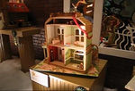 Some of moving gingerbread homes in 2006 National Gingergread Competition