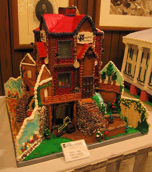 Red-roofed home (Ann Piontek, adult, Randolph VT)