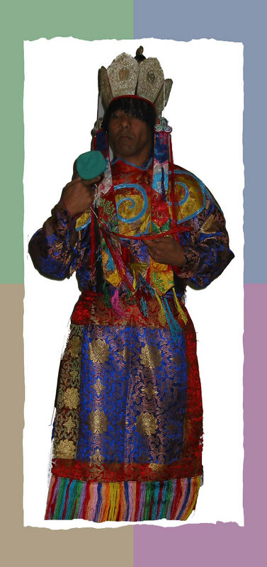 00aFavorite A colorful Tibetan dancer [color block 01 frame]