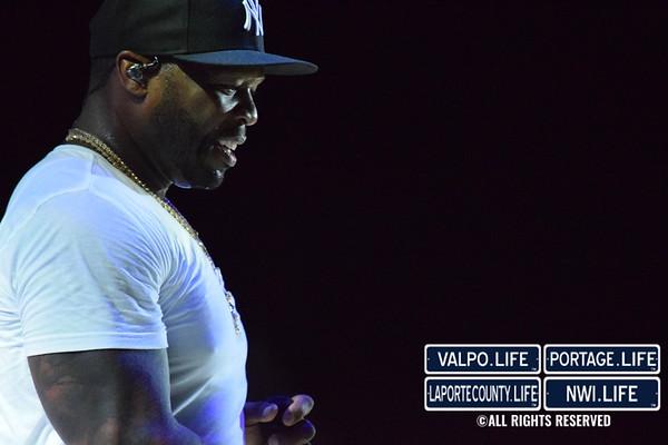 50 Cent at the Pavillion at Wolf Lake 2019