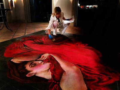 RED Art Show at Shangri-La in Bonita Springs, Fl