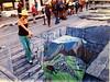 """Jane Portaluppi -street art  """"Machu Picchi""""."""