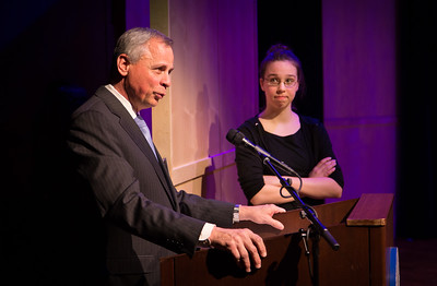 JANUARY 30, 2016 -- BRYN MAWR  -- The Baldwin School's opening of The Simpson Center for the Performing Arts Saturday, January 30, 2016.  PHOTOS ©2016 Jay Gorodetzer