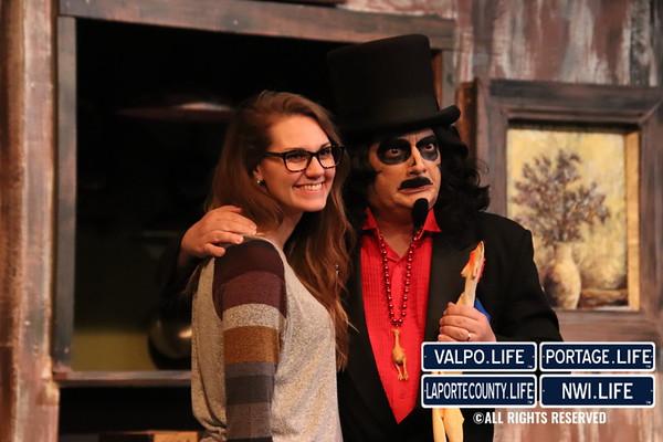 Chicago Street Theatre Halloween party 2018