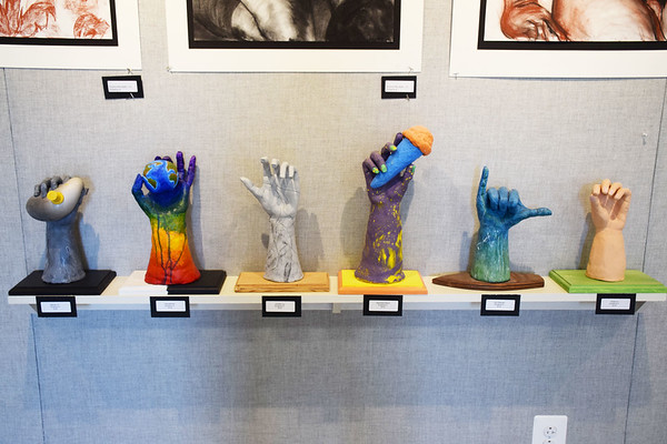 Upper School End of Year Art Exhibit 2018
