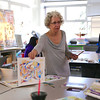 2016 Visiting Artist April Ferry in Amanda Amsel's Class, Watercolor