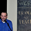 Joel Chaffee is the BFP MC for the WORD event in Greenpoint, Brooklyn