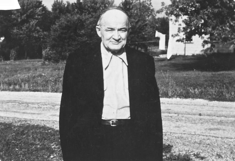Circa: 1950, Charlie Rausch, Dodie's adoptive father, Aurora, IL,