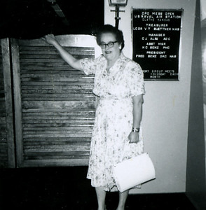 Circa: 1958, Thelma Rausch(Dodie's adoptive mother)