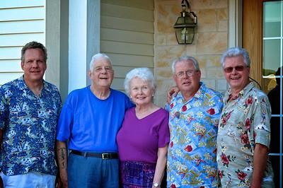 60th Wedding Anniversary, July 2007