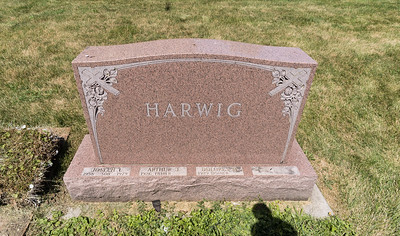 Arthur James Harwig's Funeral