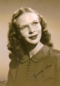Juanita Lou Hartjes, half-sister