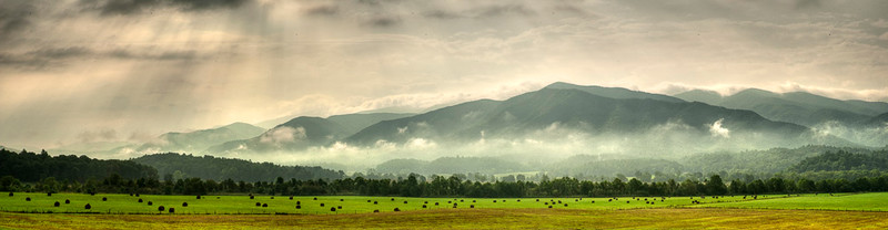 Cades Cove Hayfield
