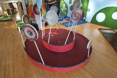 Juxtaputt-putt exhibit at artspace