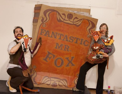 The Fantastic Mr. Fox at artspace in Shreveport, LA; production ran from September 2011 - January 2012