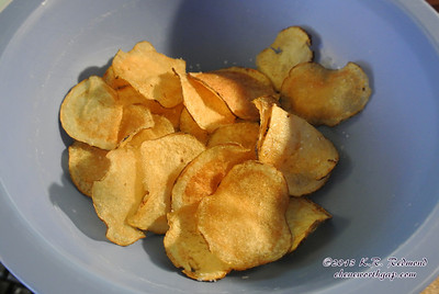 Home Made Potato Chips