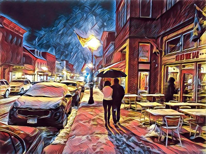 Rainy Annapolis