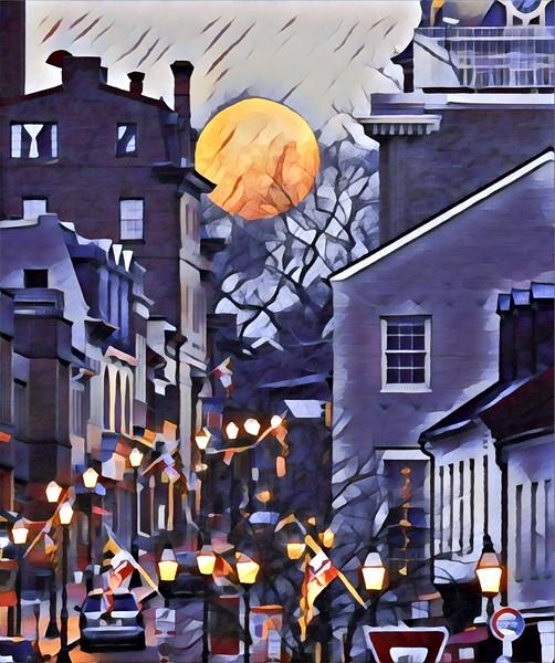 Snow Moon 2017 Annapolis