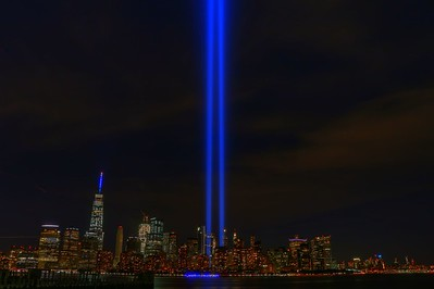 9-11 Tribute in lights