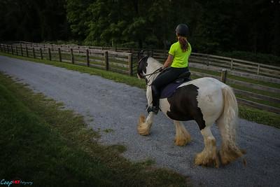 Dana Horse Riding