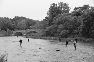 Fishing in the Humber River