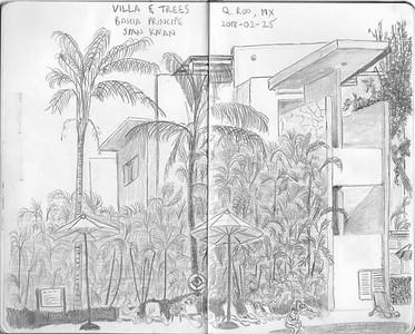 Villa and Trees, Bahia Principe Sian Ka'an