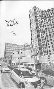 Yonge Street Traffic