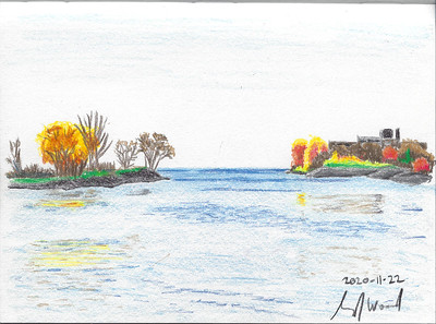 Mid-Autumn Minimalism, Humber Bay