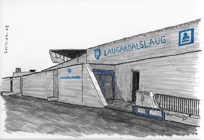 Laugardalslaug, Reykjavik