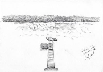 Wollaston Lake Quick Sketch