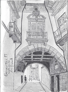 Guimarães Street Scene