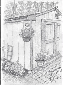 Garden Shed (Plein Air)