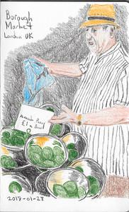 Borough Market Greengrocer