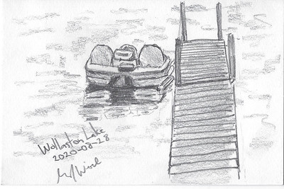 Paddleboat and Dock