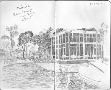 Poolside, Bahia Principe Sian Ka'an