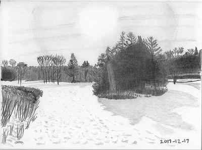 Etienne Brulé Park in Winter