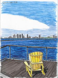 Western Skyline View