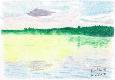 Misty Morning on Wollaston Lake