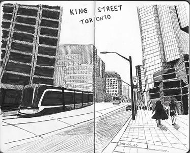 King Street Scene