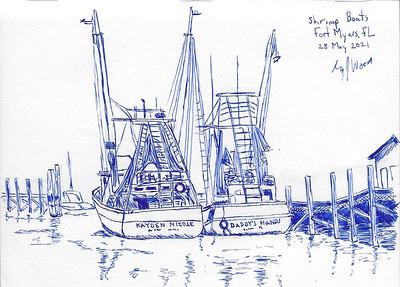 Shrimp Boats, Fort Myers