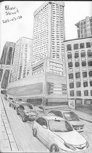 Bloor Street Traffic