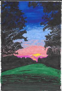 The Last Summer Sunrise