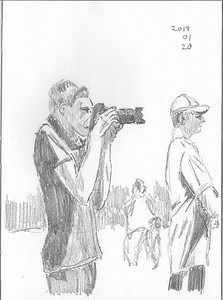 The Young Photographer (15-min sketch)