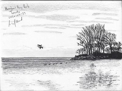 Winter Minimalism, Humber Bay Parl