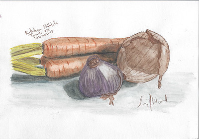 Garlic, Onion and Carrots
