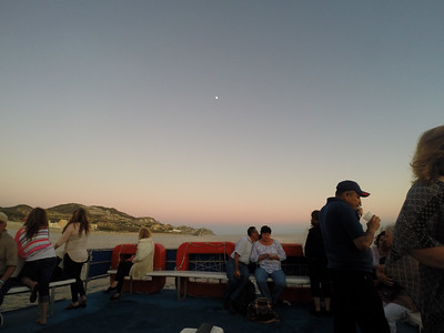 Moonrise Over Our Sunset Cruise