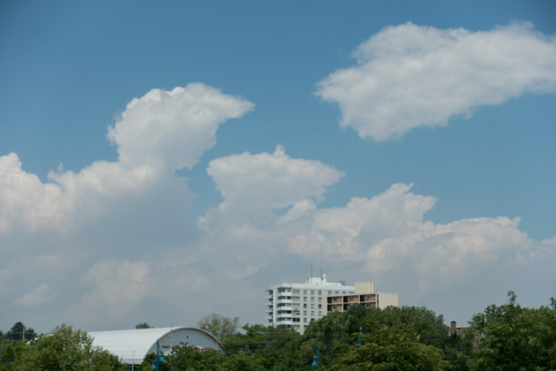 Fluffy White Clouds