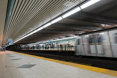 Inbound Train, Bloor Station